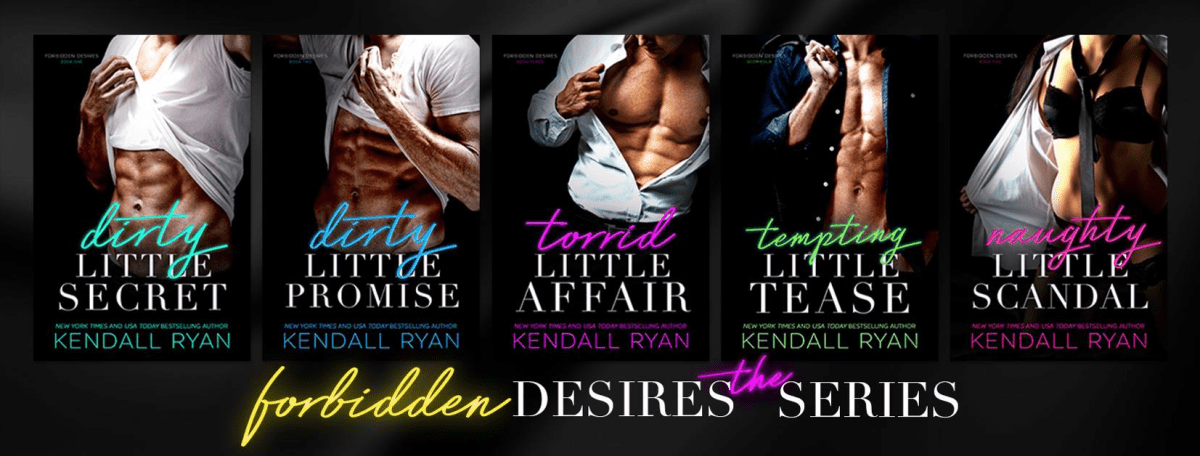 FORBIDDEN DESIRES - A Kendall Ryan Series Cover Reveal